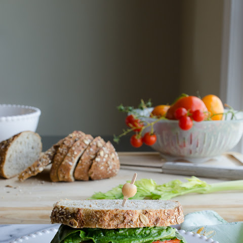 Chickpea Smash Sandwich