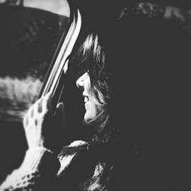 My Love by Илија Марковић - Instagram & Mobile Android ( black and white, woman, beauty, people )