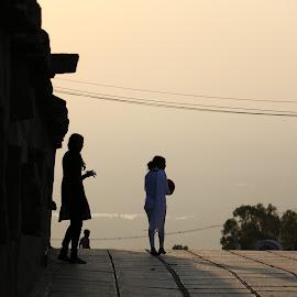 Silhouette by Sunil Abraham - City,  Street & Park  Street Scenes (  )