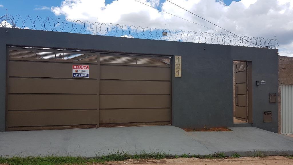 Casa com 2 dormitórios para alugar, 39 m² por R$ 550/mês - Parque das Aroeiras - Uberaba/MG
