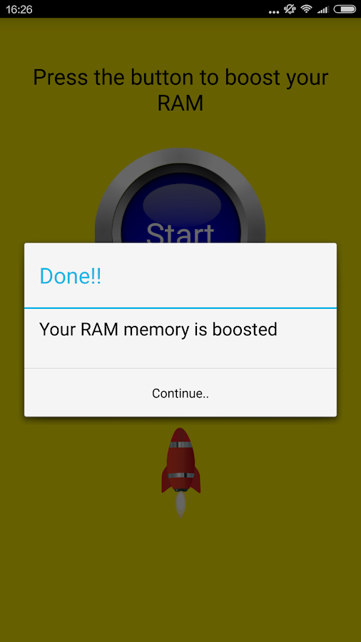 RAM Clean Screenshot 3
