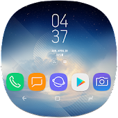 Download Android App Launchers Theme for Galaxy Note 8 for Samsung