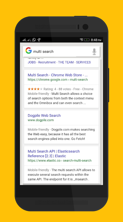 Multi Search - Alpha Screenshot 3
