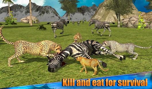 Angry Cheetah Simulator 3D