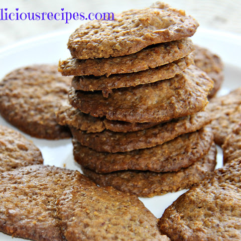 Chewy Peanut Butter & Flaxseed Cookies
