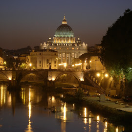 St Peter's Basilica by Bill Konold - Buildings & Architecture Places of Worship