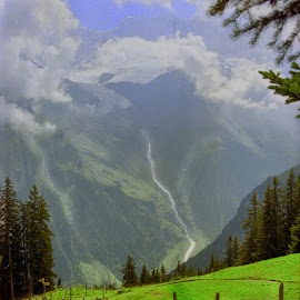 Take a Hike by Jerry Kambeitz - Landscapes Mountains & Hills ( mountains, switzerland, trails, hike, alps )
