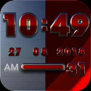 Cover art Rebel Digital Clock Widget
