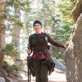 Photography Hiker by Kathy Suttles - People Street & Candids