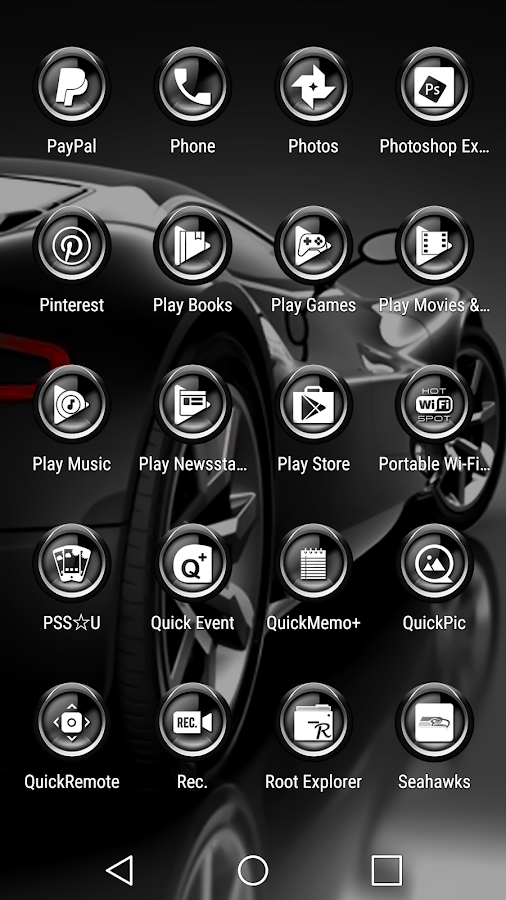 C9 Gray - Icon Pack Screenshot 5