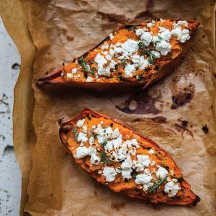 Twice-Baked Sweet Potatoes Recipe | Yummly