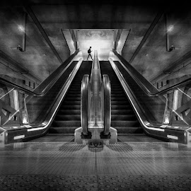 escalator by Maurits de Groen - Buildings & Architecture Other Interior