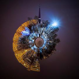 Equilibrium :)Adica inversul polarului e radialul :D by Bogdan Udrescu - Digital Art Places