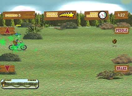 Wild West Bike Express - screenshot