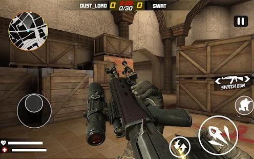 Frontline Terrorist Battle Shoot: Free FPS Shooter