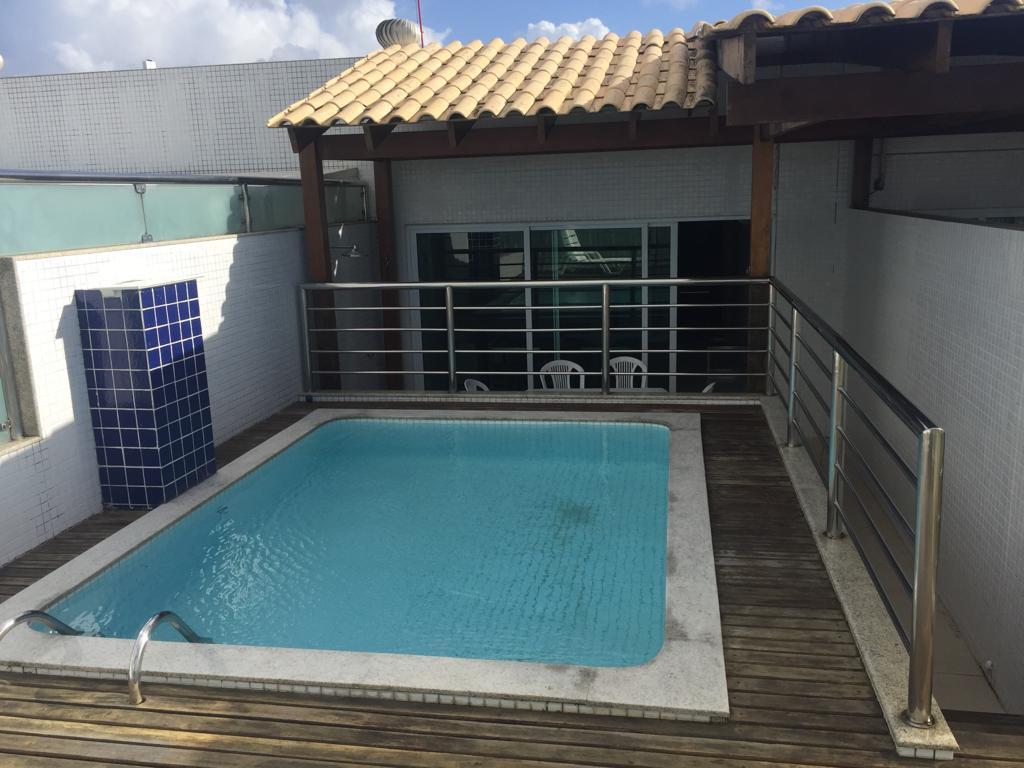 Cobertura com 1 dormitório à venda, 117 m² por R$ 570.000,00 - Manaíra - João Pessoa/PB