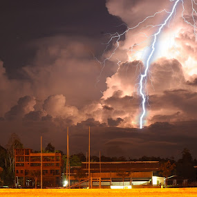 rugby field by Armie YS Yusop Teppo - Landscapes Weather ( landscap, 2012, night, nikon, light )