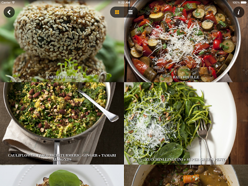 Recipes by The Healthy Chef - screenshot
