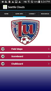 AYSO Area 1U - screenshot