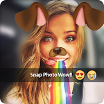Snappy photo filters&Stickers Icon