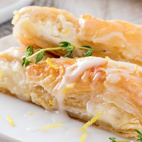 Lemon Almond Cheese Danish