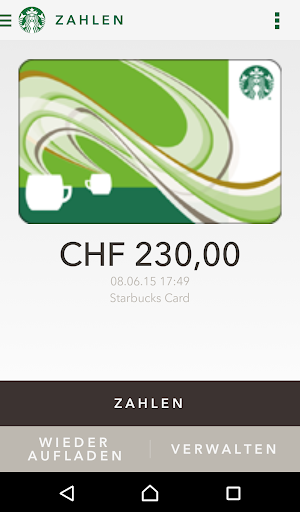 Starbucks Switzerland screenshot 2