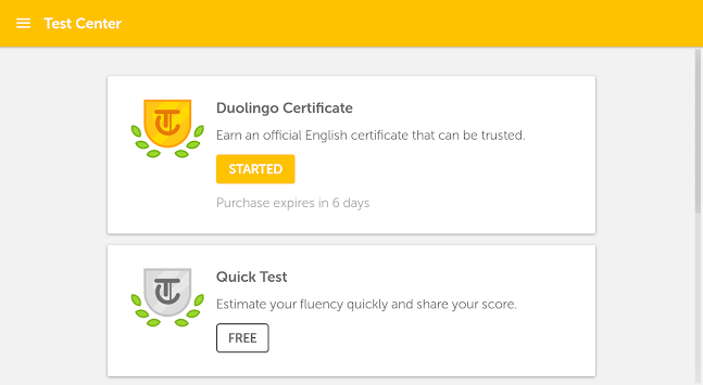 Duolingo English Test APK screenshot thumbnail 11