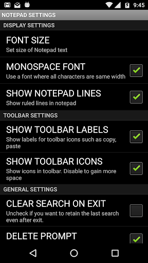 Notepad Pro - screenshot