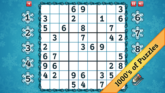 Winter Sudoku - screenshot