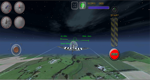 War Of Aircrafts: Spitfire Pro - screenshot