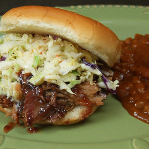 Raspberry-Chipotle Pulled Pork Sandwiches