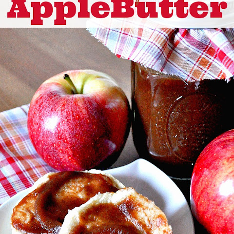 Homemade Apple Butter in your Crock Pot