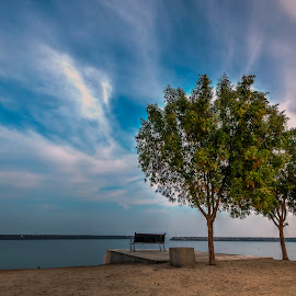 at the park by Ricky Pagador - City,  Street & Park  City Parks ( park, street, beach )