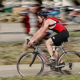 Claremore Triathlon by Jerry Ehlers - Sports & Fitness Cycling ( bike, cycling, claremore, triathlon, race, oklahmoa )