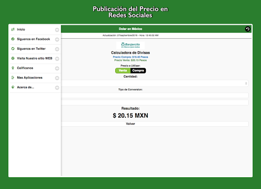 Dollar Price in México screenshot 18