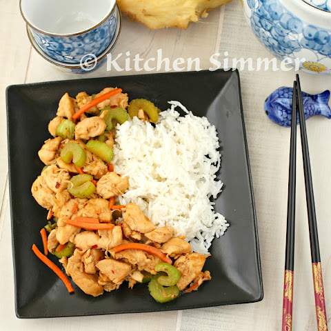 Hoisin Ginger Chicken Stir Fry