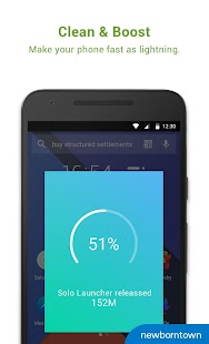 Solo Launcher-Clean,Smooth,DIY APK baixar