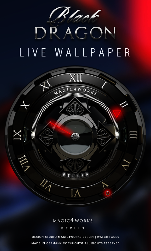 HD Analog Clock Bundle LWP 5 Screenshot 3
