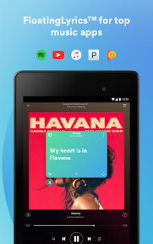 Musixmatch текстови APK screenshot thumbnail 13