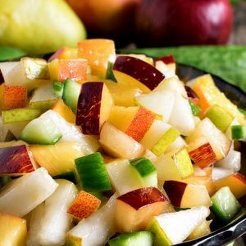 Fruit and Cucumber Salsa