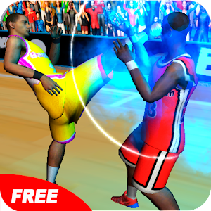 Basketball Players fight 2016 is an aggressive fighter in the basketball court APK Icon