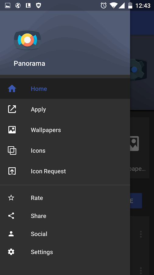 Panorama Material Icon Pack Screenshot 4