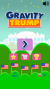 Gravity Trump - screenshot