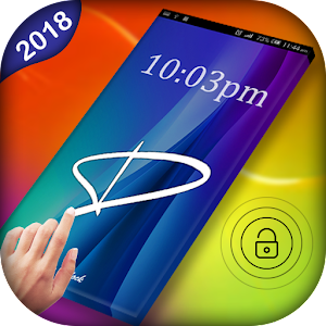 Download Gesture Lock Screen Pro : Letter Lock Screen 2018 For PC Windows and Mac
