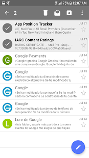 Alle Mails in einer App -> Mail Pro android apps download