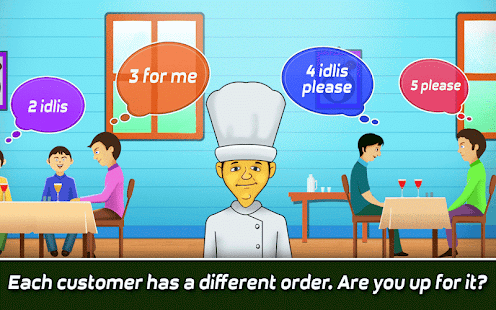 Idli Making Game: Food Serving APK for Bluestacks