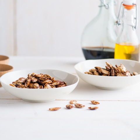 Balsamic-and-Black-Pepper Pumpkin Seeds