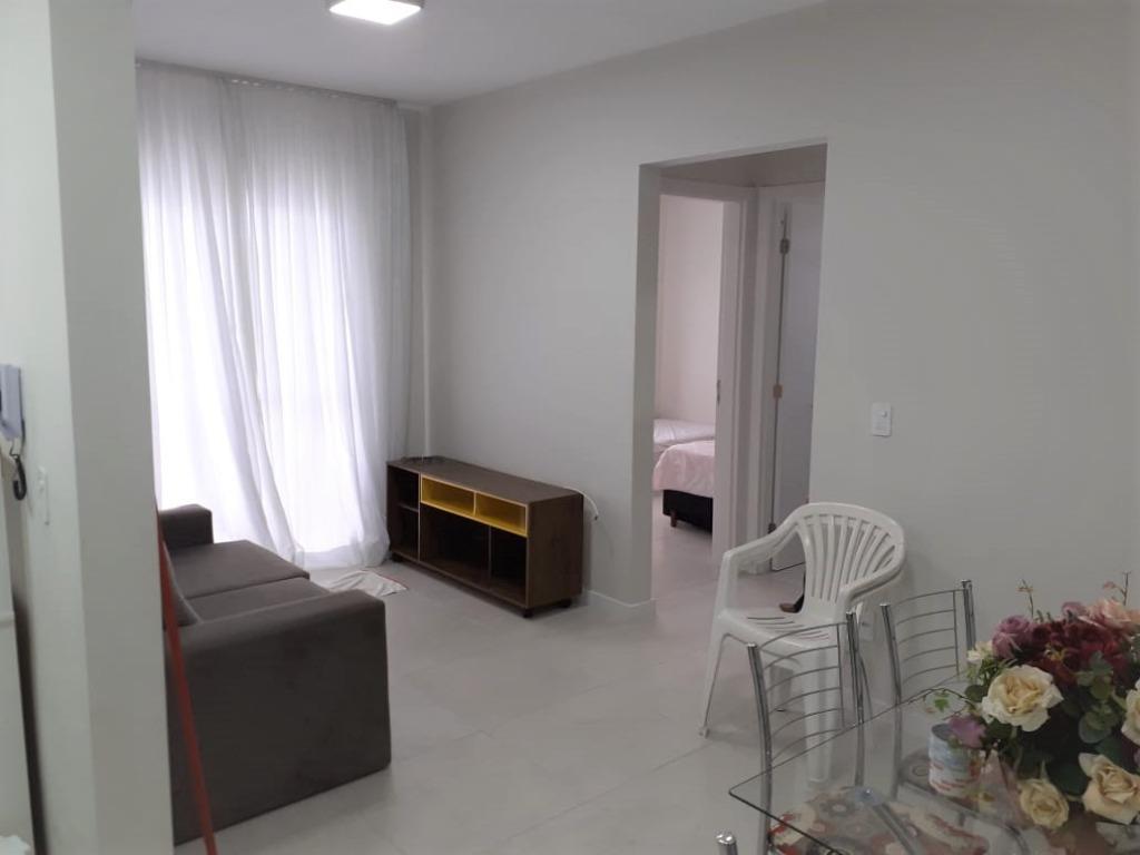 Apartamento com 2 dormitórios, 58 m² -aluguel por R$ 1.400/mês - Vila Nova - Porto Belo/SC
