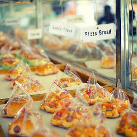 STAND ROTI by Muhammad Fadhil - Food & Drink Cooking & Baking ( toast, bread, pizza, food style, breakfast, stand, cheese )