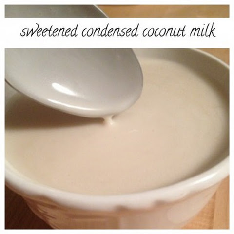 Sweetened Condensed Coconut Milk … My Life Is Forever Changed